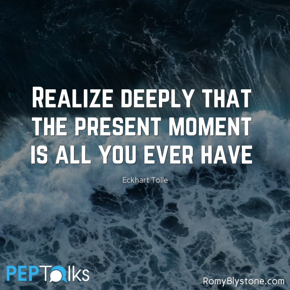 A Quote By Eckhart Tolle Peptalks Us