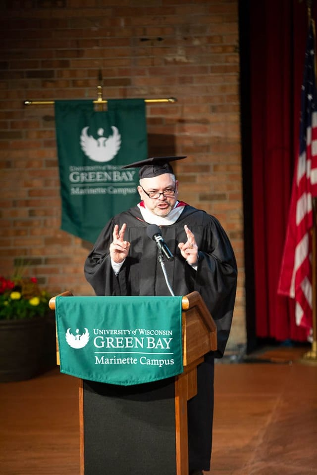 UWGB | Marinette Campus | 2019 Graduation Commencement Keynote Speaker - Romy Blystone